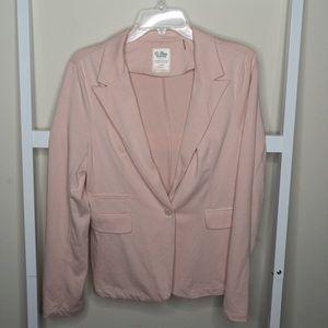 Pink Stretchy Blazer